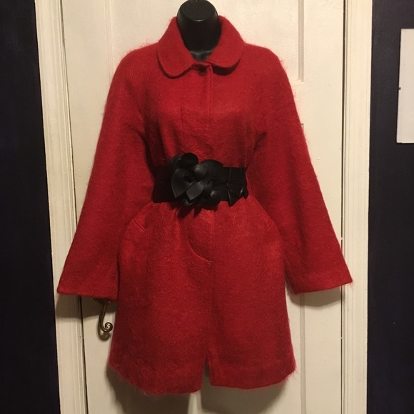 Rannoch Designs by Tom Gilby London Jackets & Blazers - Rannoch Designs by Tom Gilby London Mohair Coat